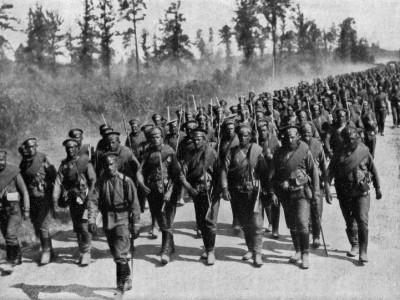 Фото с Первой мировой войны