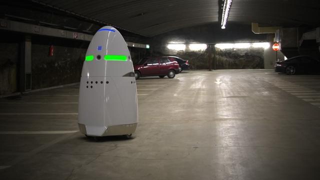 Настоящий Робокоп охраняет Силиконовую долину