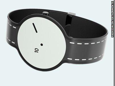 Sony представила бумажные часы