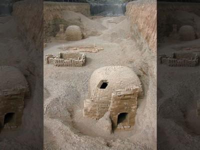 Древнее кладбище в Китае