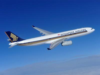 Интернет в самолете Singapore Airlines