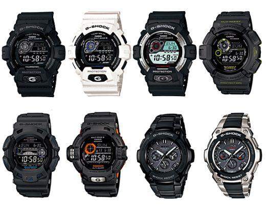 Наручные часы G-Shock для спортсменов