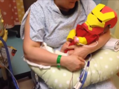 Костюм Железного человека для малыша