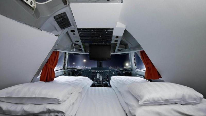 Спать в самолете теперь комфортней