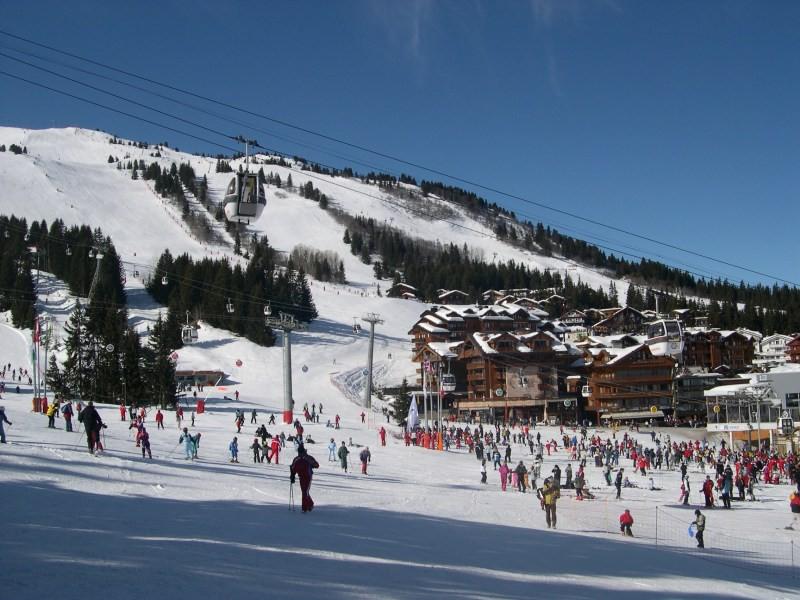 Катаемся на лыжах в Куршевеле