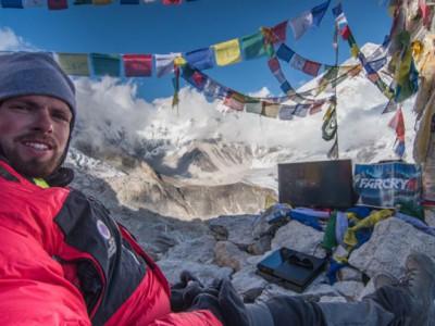 Игровой рекорд прямо на Эвересте совершил Уильям Круз