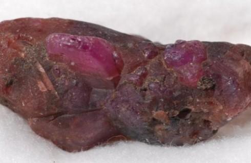Редкий рубин нашли в Мозамбике