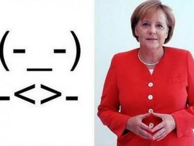 Смайлик имени Ангелы Меркель