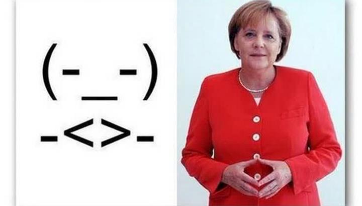 Смайлик имени Ангелы Меркель появился в сети