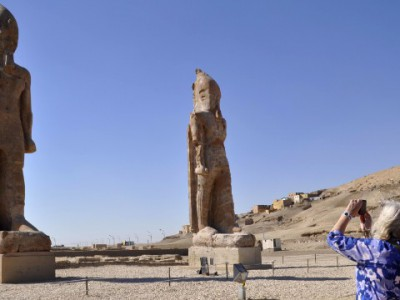 Статуя фараона Аменхотепа III