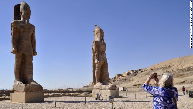 Новая старая статуя появилась в Египте