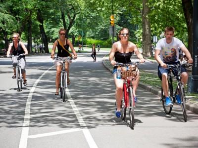 Скорость велосипедистов