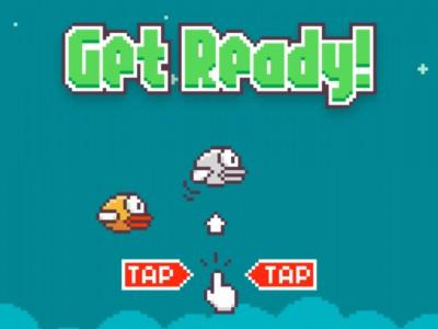 Топ Google по играм: Flappy Bird