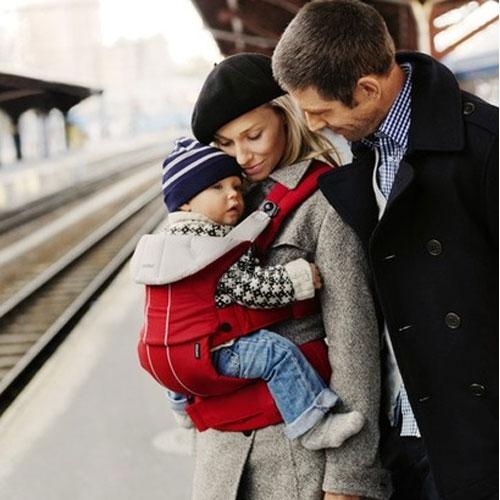 Комфортный рюкзак-кенгуру для активных родителей и малышей