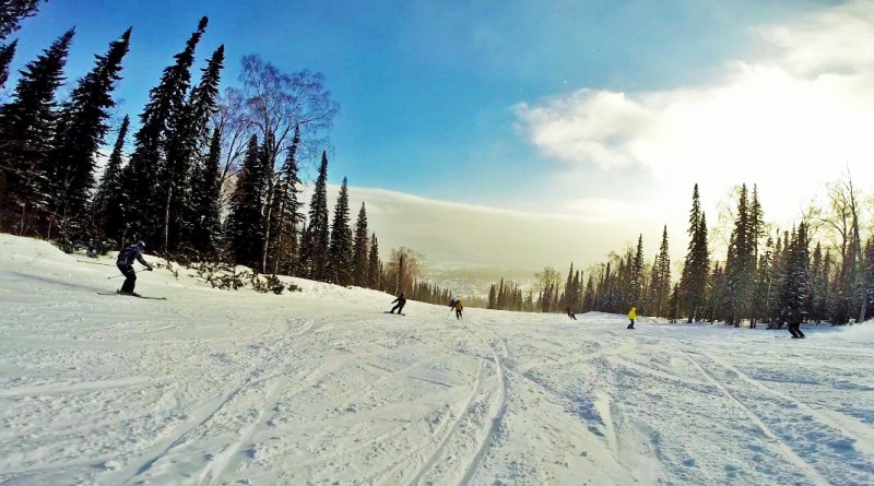 Приезжайте на Алтай зимой!