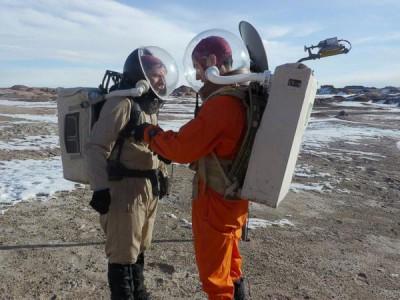Подготовка к полету на Марс