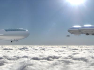 Полет на Венеру: дома в атмосфере Венеры