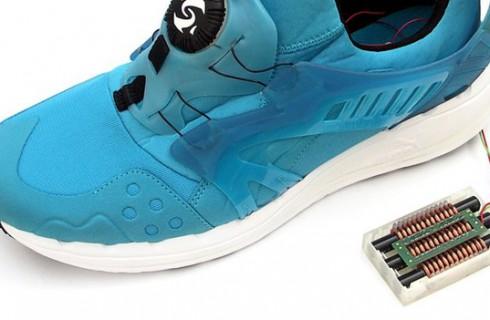 Умная обувь производит энергию