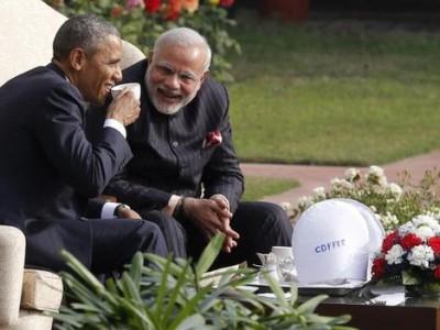 Индия и США : Нарендра Моди  и  Барак Обама