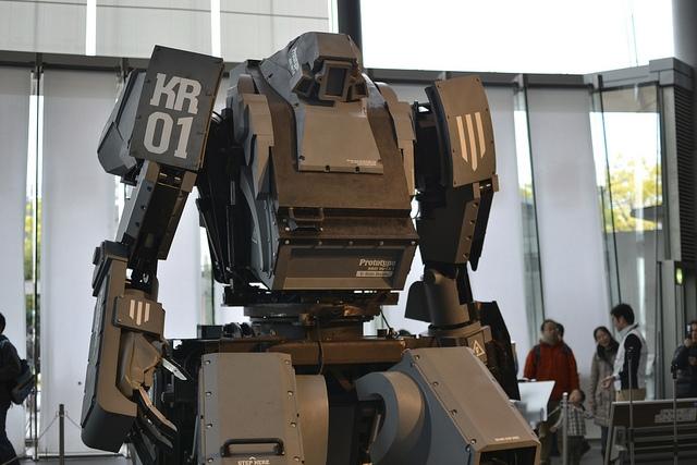 Гигантского робота можно купить для личного пользования