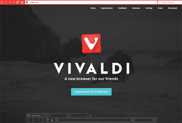 Знакомьтесь, новый браузер Vivaldi Джона фон Тетцчнера!