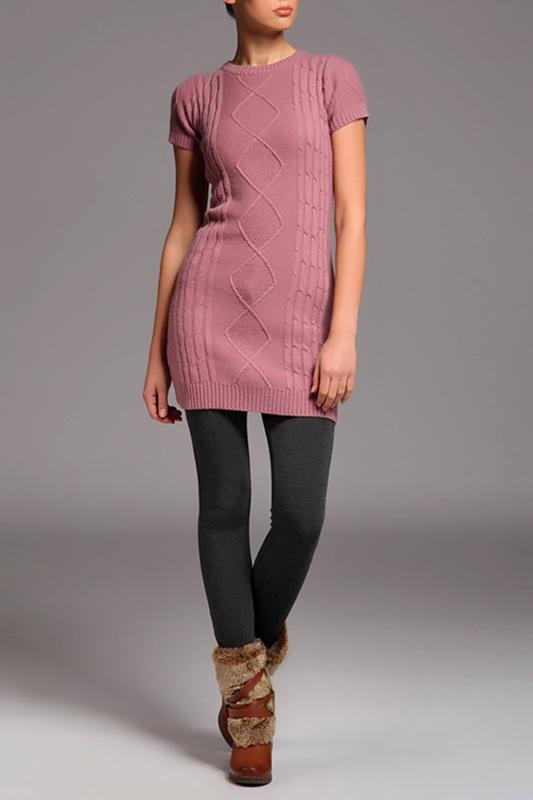 Платье-свитер: стильно, тепло, удобно
