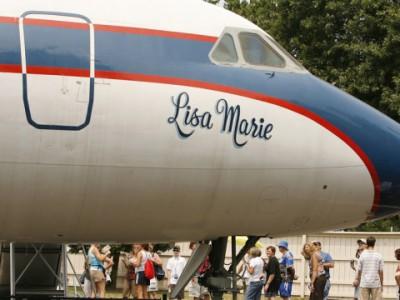 Самолеты Элвиса Пресли: самолет Lisa Marie