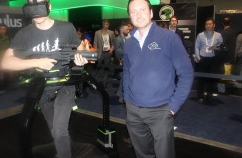 Беговая дорожка дополнит виртуальную реальность