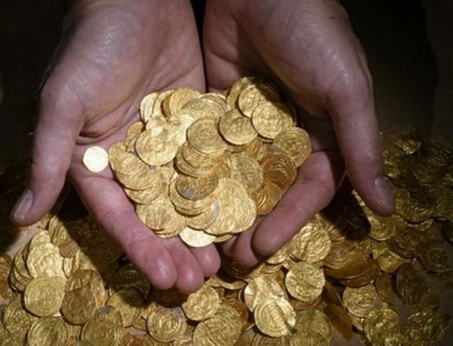 Воды Израиля скрывали золотой клад