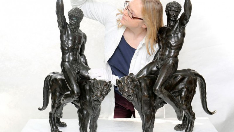 Найдены статуи Микеланджело