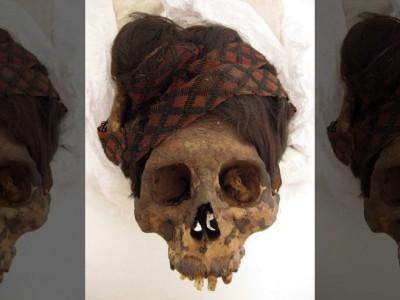 Волосы мумии 2000-летней давности