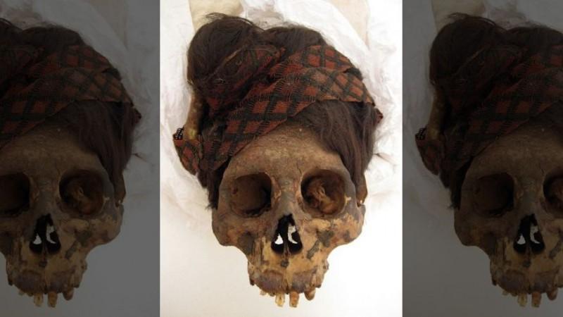 Волосы мумии расскажут о ее рационе