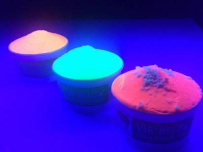 Светящееся мороженое