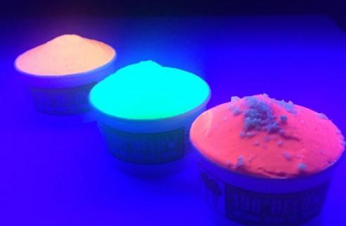 Любители темноты получили собственное мороженое