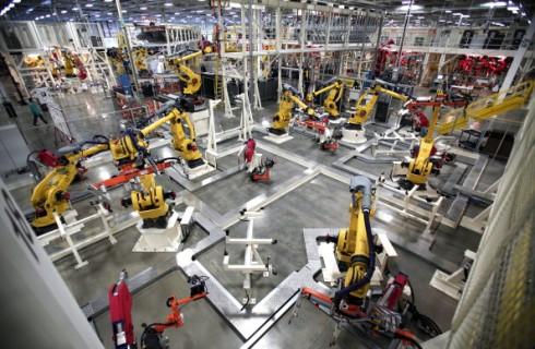 Роботы захватывают предприятия мира