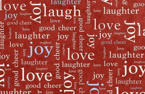 Люди предпочитают счастливые слова