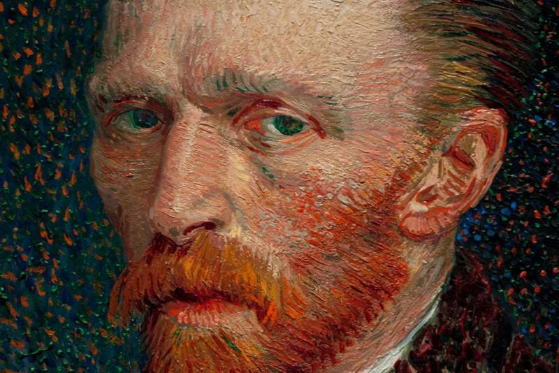 Работы Ван Гога меняют цвета