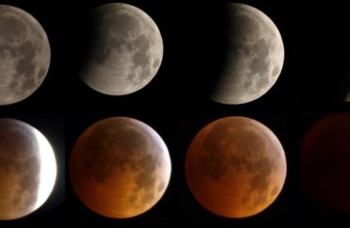 Земляне увидят полное лунное затмение