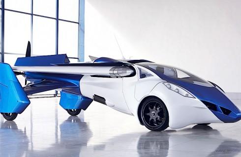 Мир перейдет на летающие автомобили в 2017 году