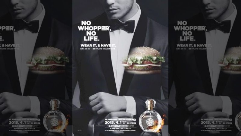 Создали одеколон с запахом гамбургера