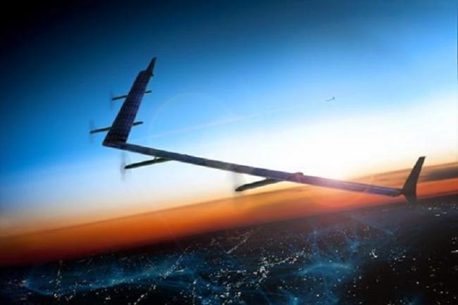 Флот солнечных дронов принесет глобальный интернет