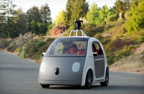 Google предлагает внешние подушки безопасности для авто