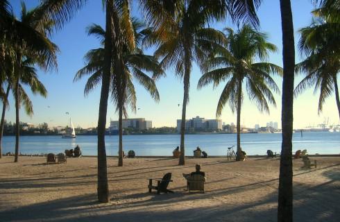 Губернатор Флориды отменил глобальное потепление