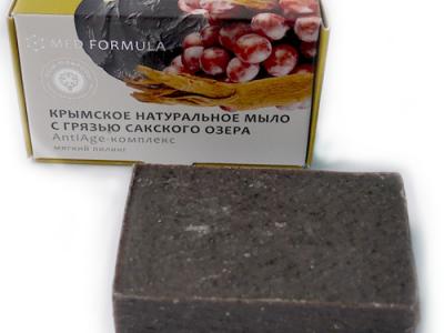 Крымское натуральное мыло с грязью Сакского озера