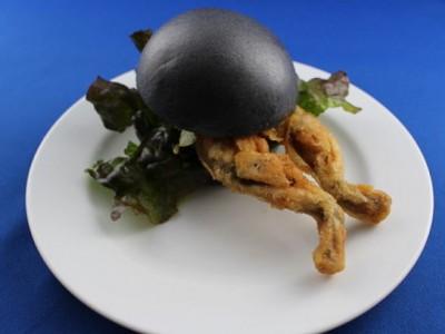 Лягушачий бургер