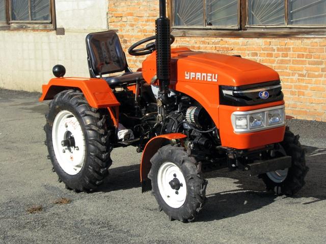 Мини-трактор «Уралец» — большие возможности маленькой техники