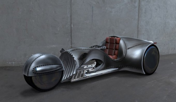 Уильям Шатнер разработал уникальный мотоцикл