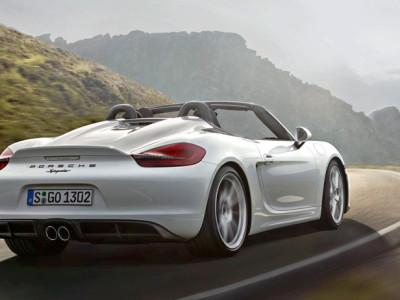 Новинки Нью-Йоркского автосалона: Porsche Boxster Spyder