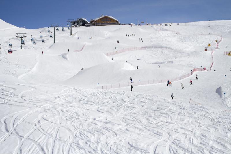 Один из самых популярных горнолыжных курортов Италии