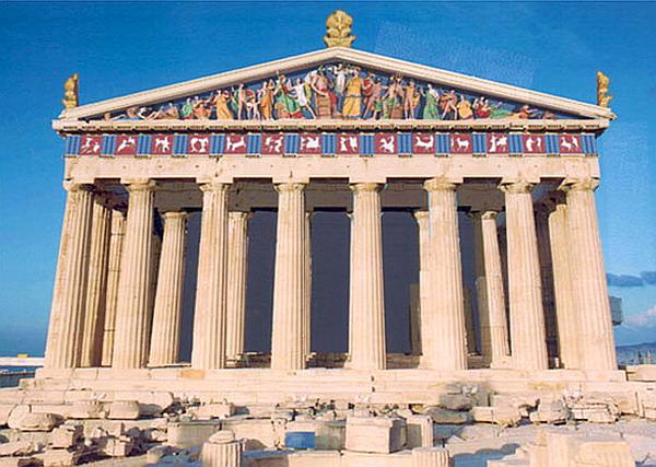 Одна из самых масштабных достопримечательностей Греции